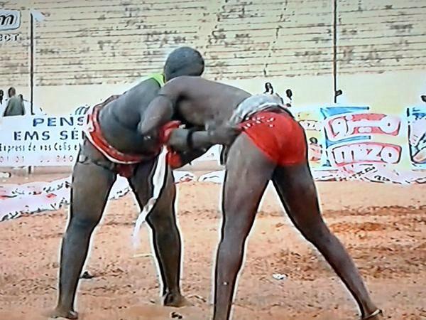 traditioneller senegalesischer Kampf Senegal