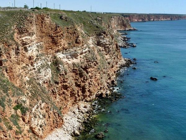 Bulgarien Cap Kaliakra Felsen