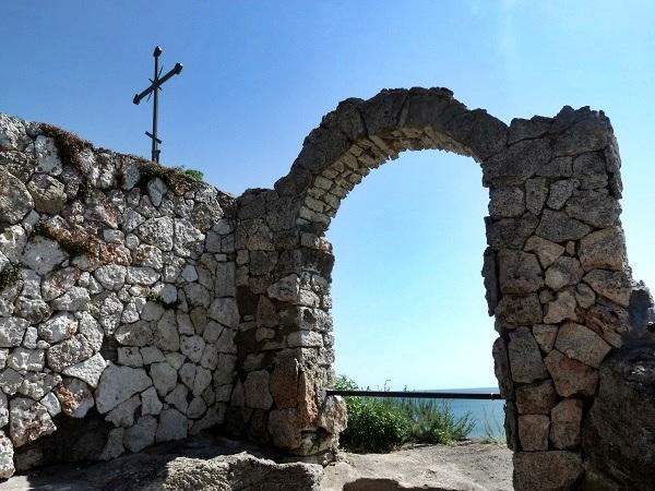 Bulgarien Kap Kaliakra Kapelle