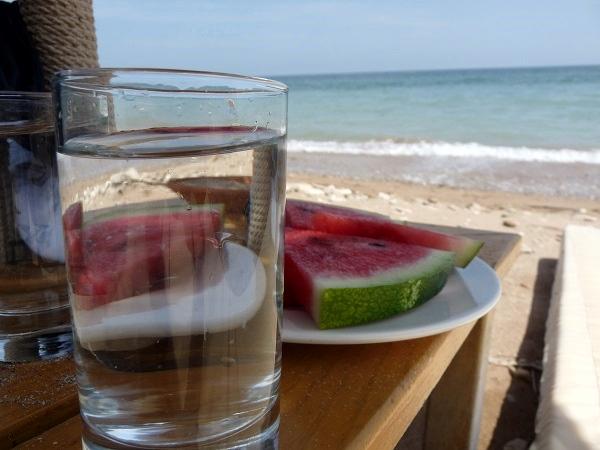 Bulgarien Schwarzes Meer Chillen am Strand