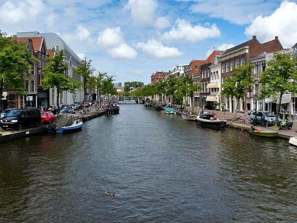Leiden Gracht Holland