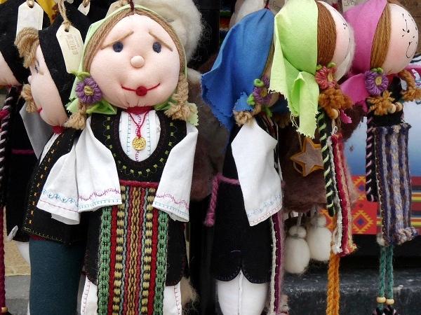 Nessebar Bulgarien Puppen