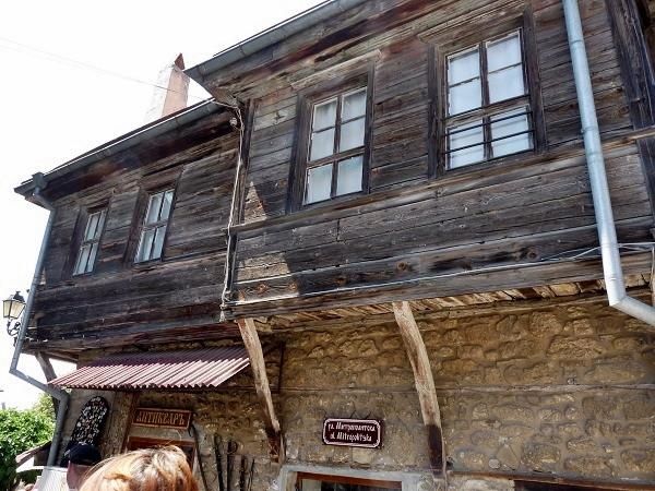 Nessebar Bulgarien Holzhaus