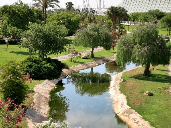 Valencia Ciudad de las Ciencias Park