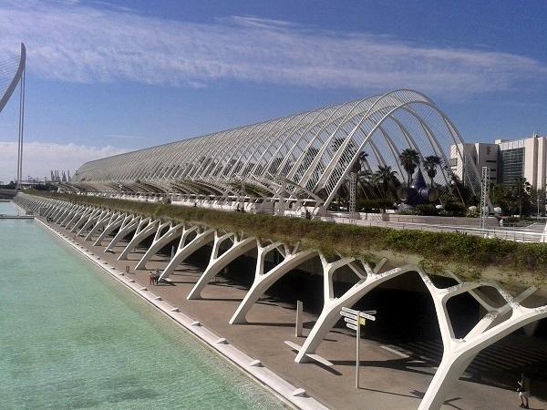 Valencia Ciudad de las Artes y Ciencias Umbracle