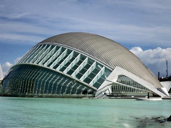 Valencia Ciudad de las Artes y Ciencias Hemisferic