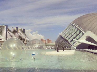 Wasserball - in der Ciudad de las Artes y las Ciencias 1