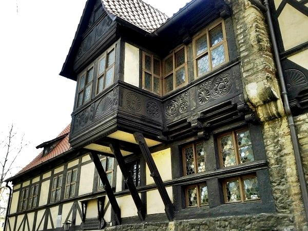 Wernigerode Harz altes Fachwerk
