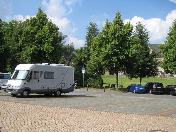 Wohnmobil WOMO Stellplatz Goslar