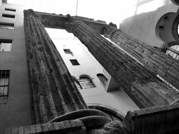 Barcelona Augustustempel