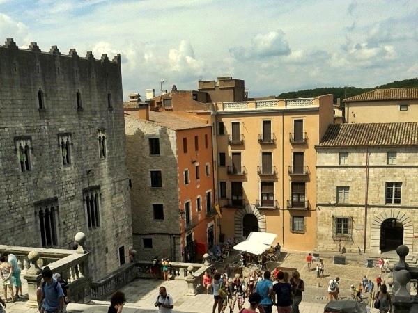 Girona Blick von der Kathedrale- Call