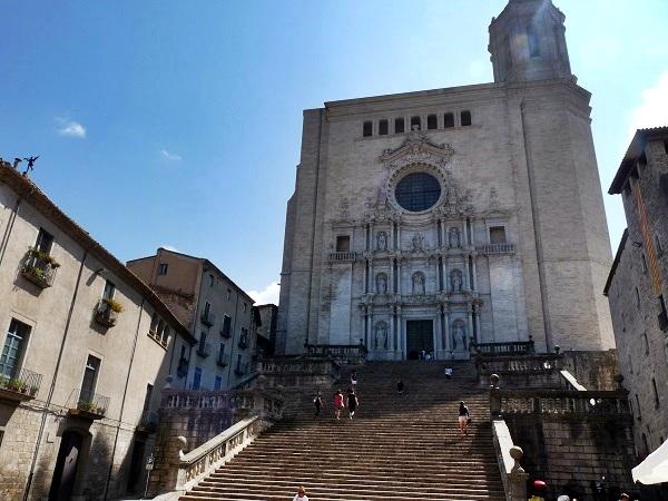 Girona Die Kathedrale