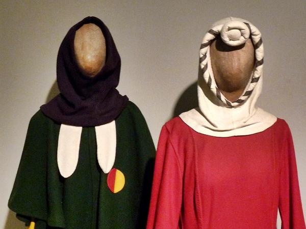 Girona Jüdisches Museum Kleidung