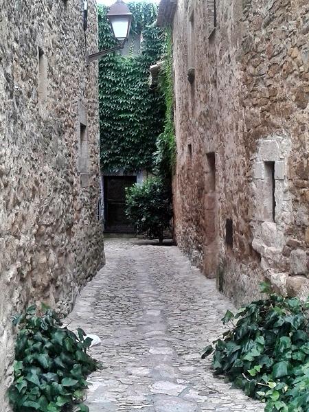 Girona alte Gassen Altstadt