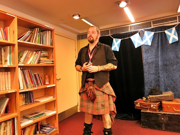 Storyteller Edinburgh Schottland