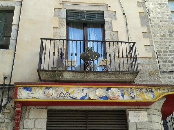 Girona Altstadt