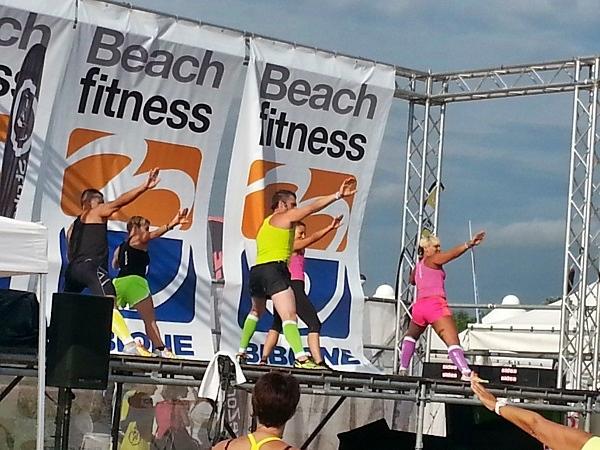Beach Fitness bibione
