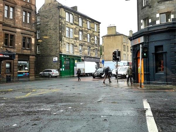 Edinburgh Regen