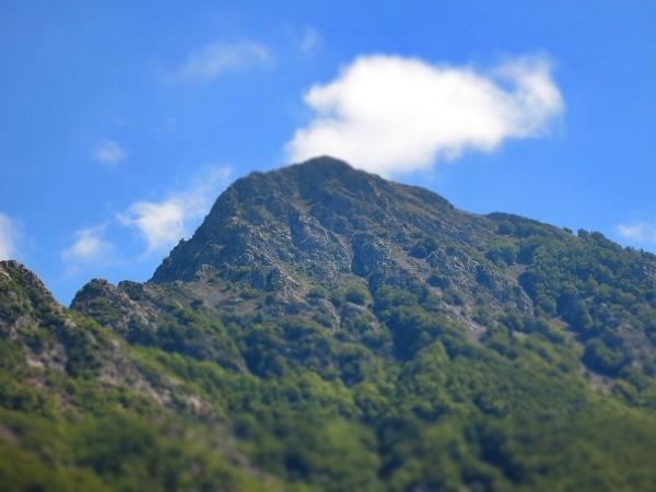 Gipfel Les Agudes Montseny