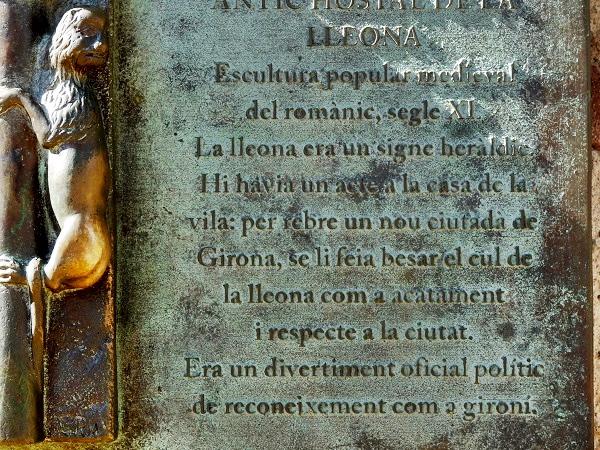 Girona Balkon Altstadt Geheimnisse
