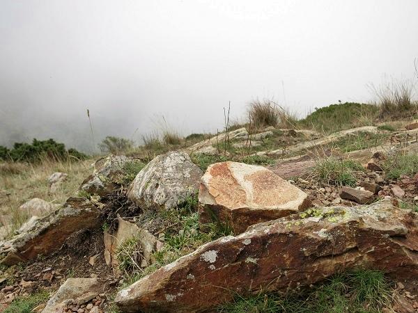 Montseny Wandern Gipfel Wolken