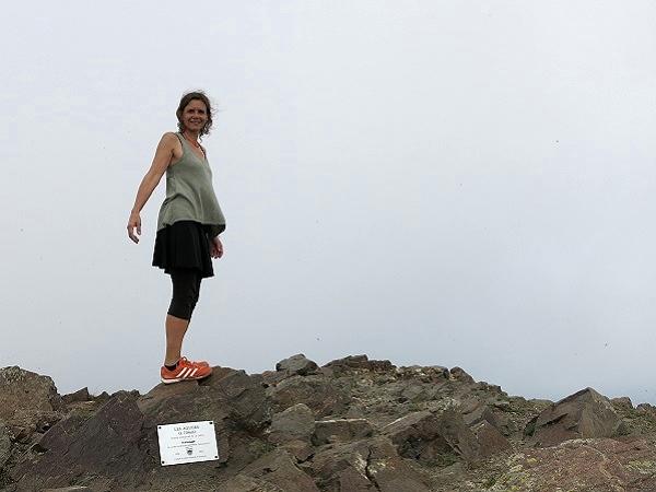 Montseny les Agudes Wandern Gipfel