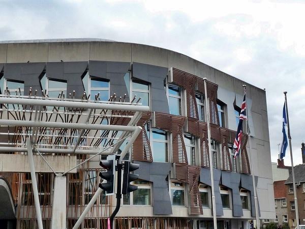 Scottish Parliament - Parlament Edinburgh