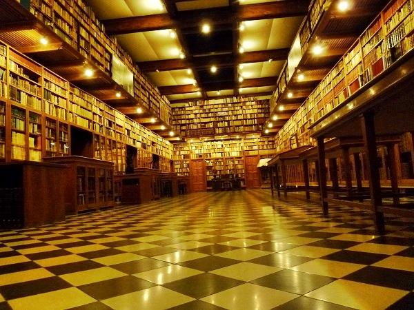 Peralada Bibliothek