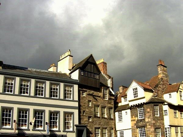 Regenwetter Edinburgh