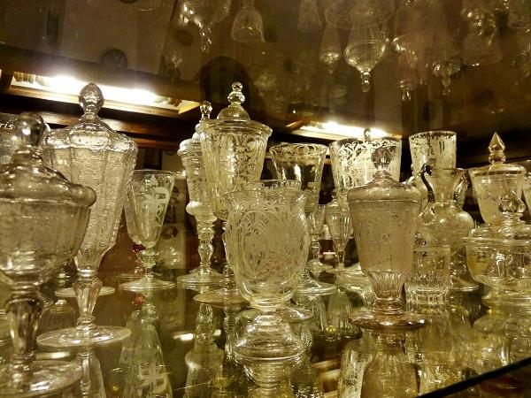 Schloss Peralada Glassammlung
