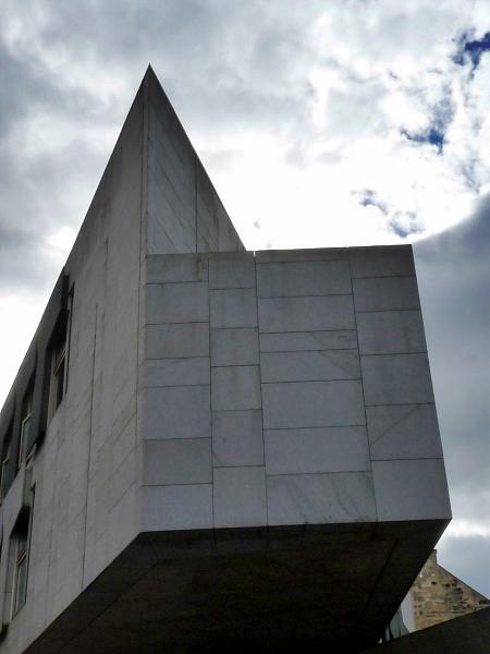 Scottish Parliament Building Miralles Edinburgh