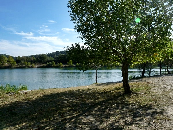 Camping im Herbst  Provence