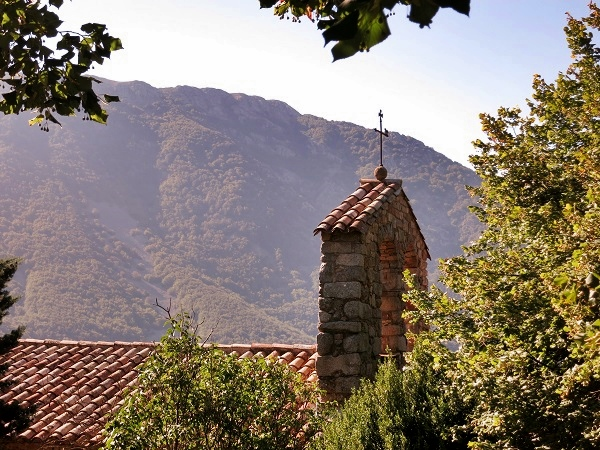 Wandern Montseny Kloster