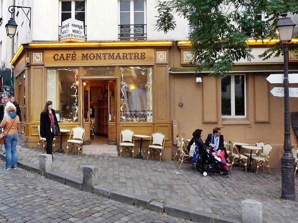 Boulangerie Cafe Montmartre Paris