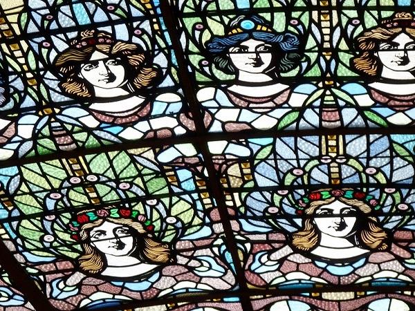 Palau de la Musica Licht Fenster Barcelona
