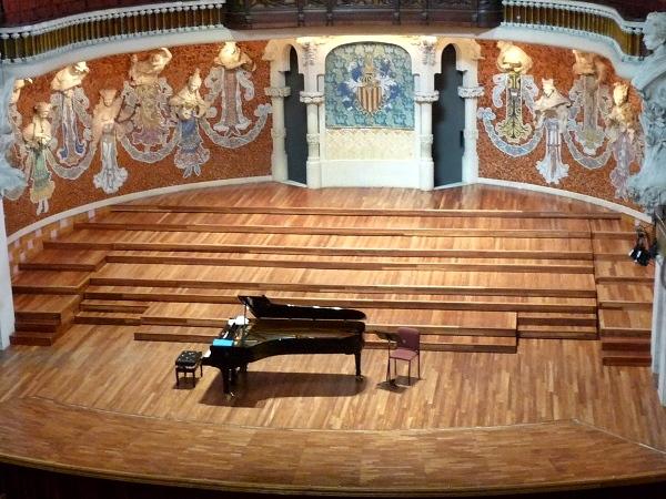 Konzertsaal Palau de la Musica Barcelona