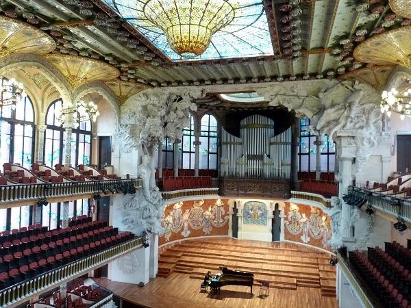 Musikpalast der Palau de la Musica