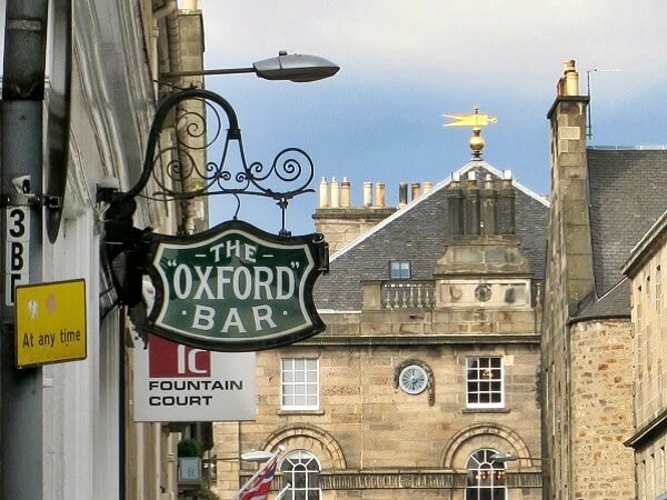 Oxford Bar Edinburgh