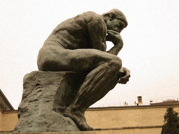 Musée Rodin: der Denker Paris