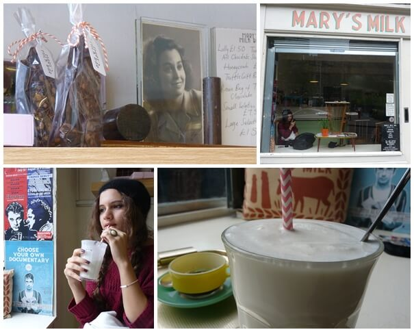 mary's milk bar Edinburgh Grassmarket