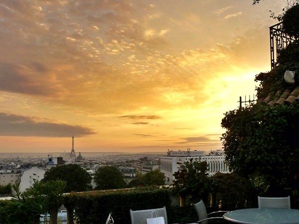 Sonnenuntergang Montmartre Paris
