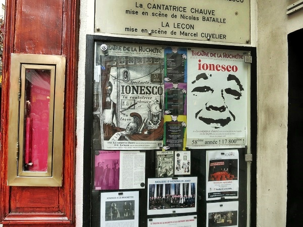theatre de la huchette quartier latin paris