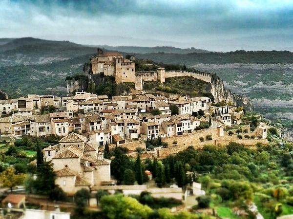 Alquezar Huesca Spanien