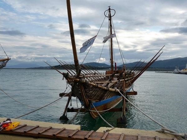 Argo in Volos Hafen Griechenland