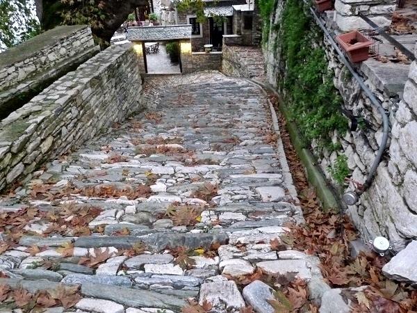 Griechenland Pelion Makrinitsa Wege