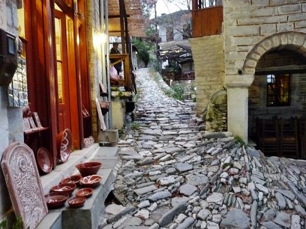 Griechenland Pelion Makrinitsa im Dorf