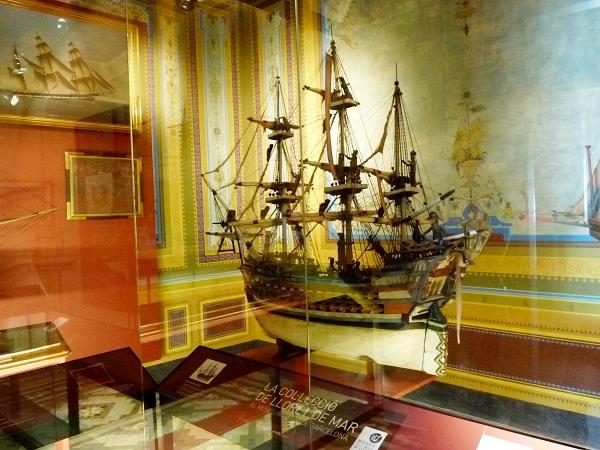 Schiffsmodelle Museu del Mar Lloret