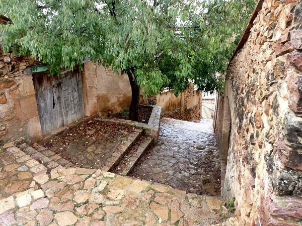Treppen Alquezar Huesca