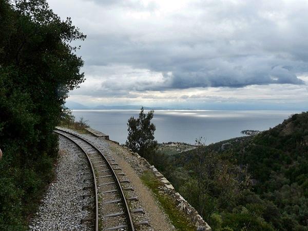 Zugstrecke Pilion