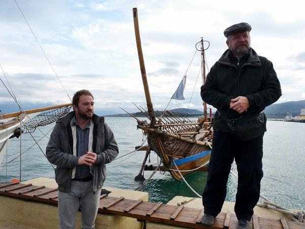Argonauten der Argo in Volos Griechenland